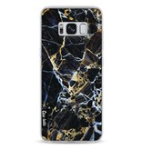Casetastic Softcover Samsung Galaxy S8 - Black Gold Marble