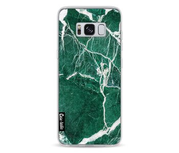Dark Green Marble - Samsung Galaxy S8