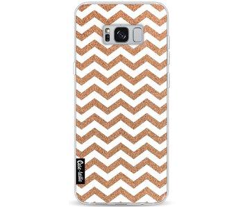Copper Chevron - Samsung Galaxy S8 Plus