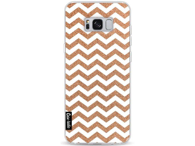 Casetastic Softcover Samsung Galaxy S8 Plus - Copper Chevron