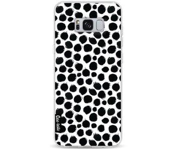 Black Dotted - Samsung Galaxy S8 Plus
