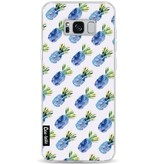 Casetastic Softcover Samsung Galaxy S8 Plus - Blue Pineapples
