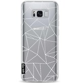 Casetastic Softcover Samsung Galaxy S8 Plus - Abstract Dotted Lines Transparent