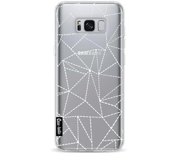 Abstract Dotted Lines Transparent - Samsung Galaxy S8 Plus