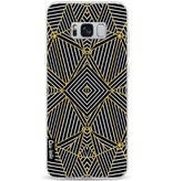 Casetastic Softcover Samsung Galaxy S8 Plus - Abstraction Half Gold