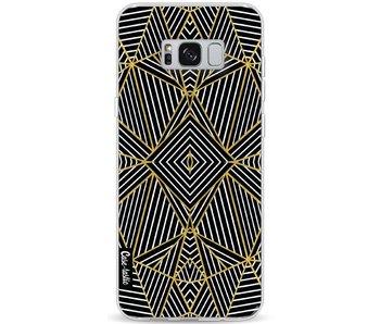 Abstraction Half Gold - Samsung Galaxy S8 Plus