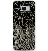 Casetastic Softcover Samsung Galaxy S8 Plus - Abstraction Half Half Gold