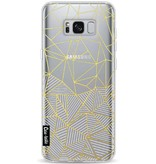 Casetastic Softcover Samsung Galaxy S8 Plus - Abstraction Half Half Transparent