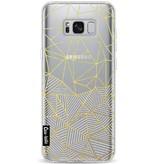 Casetastic Softcover Samsung Galaxy S8 Plus - Abstraction Half Half Transparent