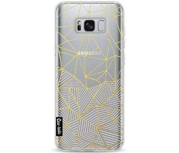 Abstraction Half Half Transparent - Samsung Galaxy S8 Plus
