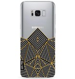 Casetastic Softcover Samsung Galaxy S8 Plus - Abstraction Half Transparent