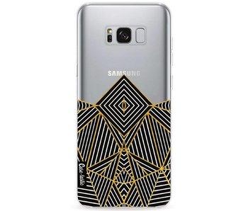 Abstraction Half Transparent - Samsung Galaxy S8 Plus