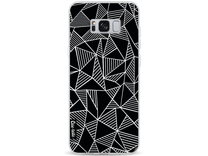Casetastic Softcover Samsung Galaxy S8 Plus - Abstraction Lines Black