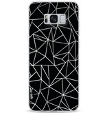 Casetastic Softcover Samsung Galaxy S8 Plus - Abstraction Outline