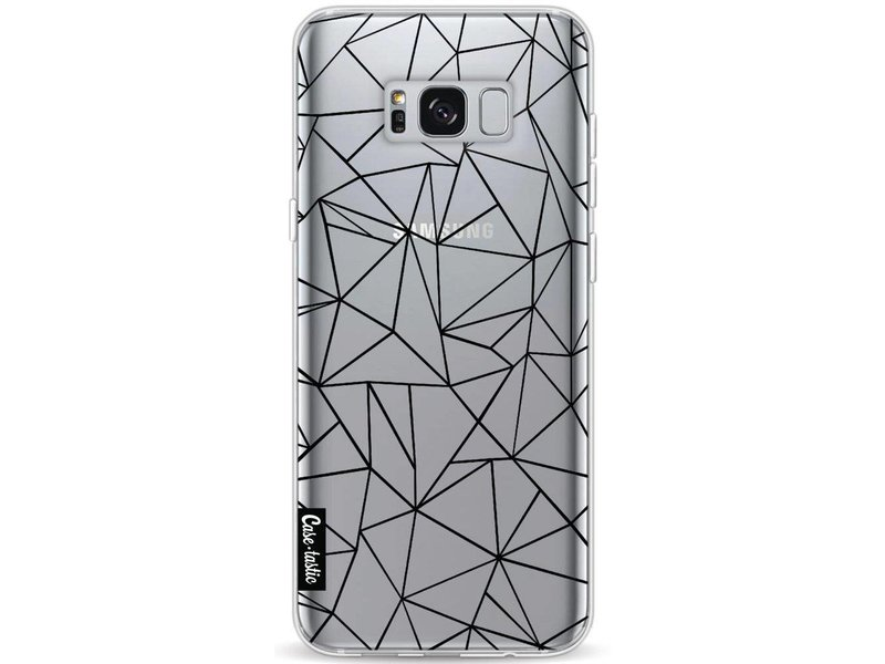 Casetastic Softcover Samsung Galaxy S8 Plus - Abstraction Outline Black Transparent