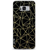 Casetastic Softcover Samsung Galaxy S8 Plus - Abstraction Outline Gold