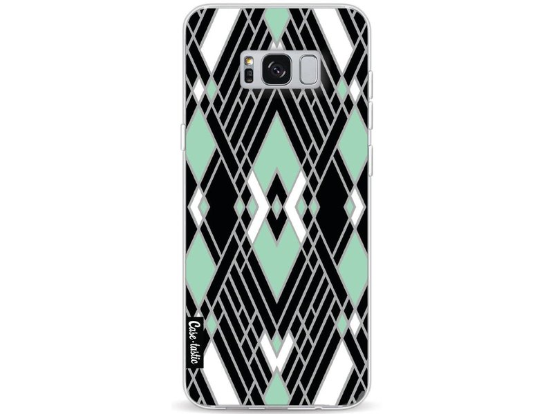 Casetastic Softcover Samsung Galaxy S8 Plus - Art Deco Mint