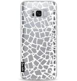 Casetastic Softcover Samsung Galaxy S8 Plus - British Mosaic White Transparent