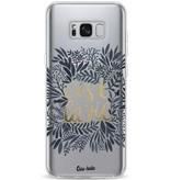 Casetastic Softcover Samsung Galaxy S8 Plus - Cest La Vie BlackGold