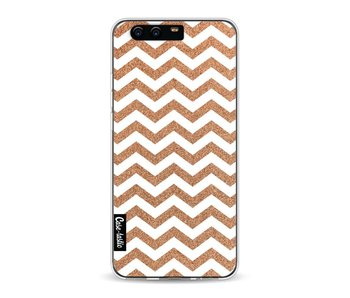 Copper Chevron - Huawei P10