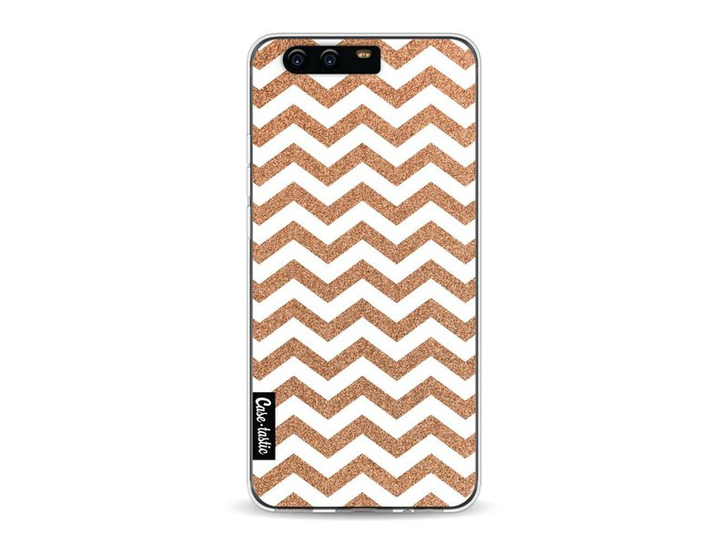 Casetastic Softcover Huawei P10 - Copper Chevron