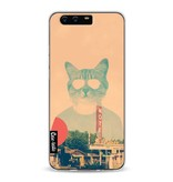 Casetastic Softcover Huawei P10 - Cool Cat