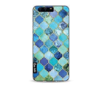 Aqua Moroccan Tiles - Huawei P10