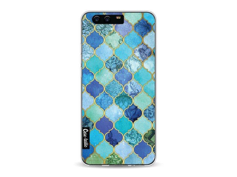 Casetastic Softcover Huawei P10 - Aqua Moroccan Tiles