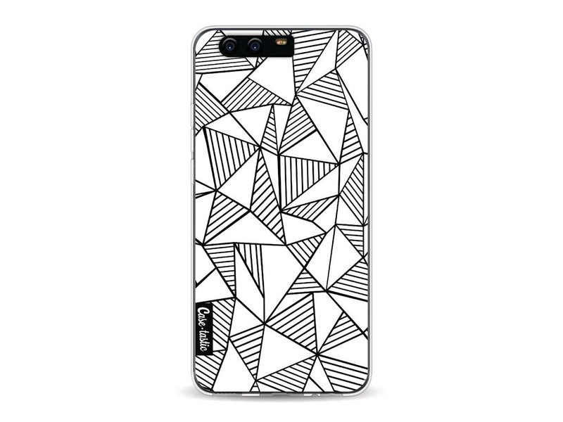 Casetastic Softcover Huawei P10 - Abstraction Lines White