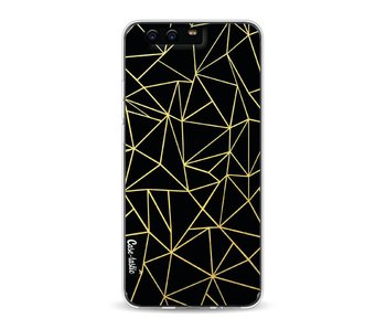 Abstraction Outline Gold - Huawei P10