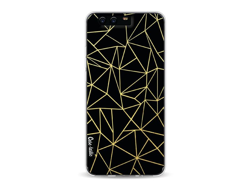 Casetastic Softcover Huawei P10 - Abstraction Outline Gold