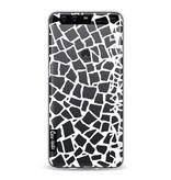 Casetastic Softcover Huawei P10 - British Mosaic White Transparent