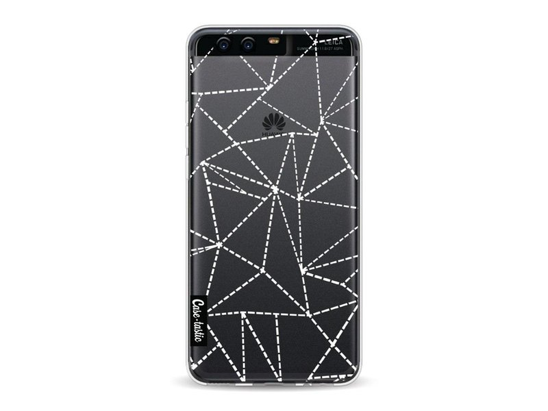 Casetastic Softcover Huawei P10 - Abstract Dotted Lines Transparent
