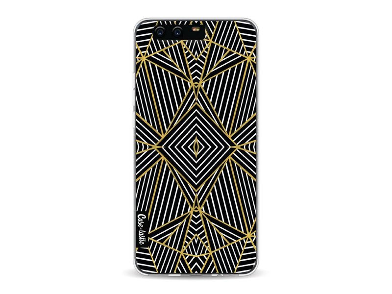 Casetastic Softcover Huawei P10 - Abstraction Half Gold