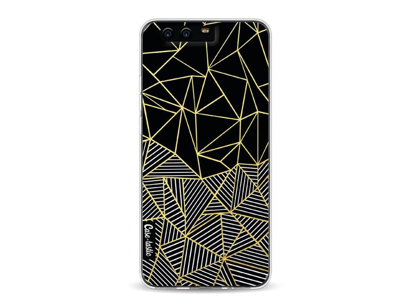 Casetastic Softcover Huawei P10 - Abstraction Half Half Gold