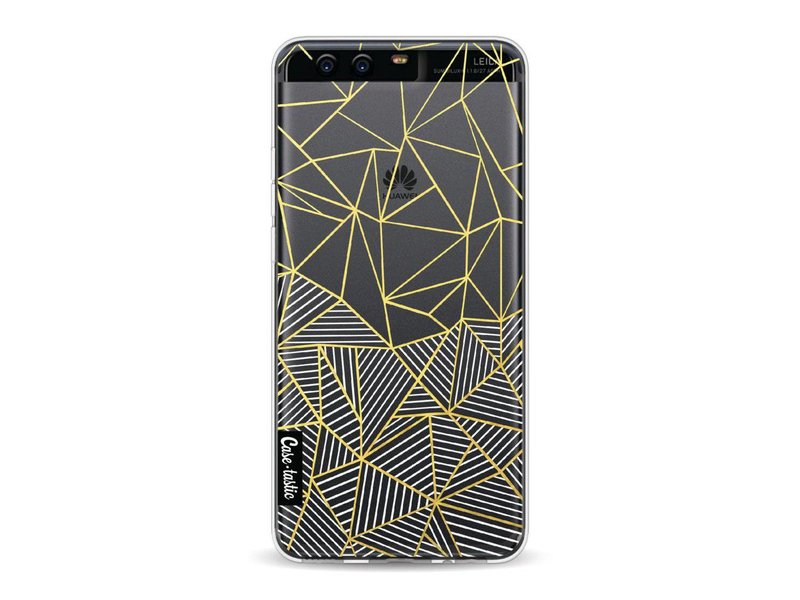 Casetastic Softcover Huawei P10 - Abstraction Half Half Transparent