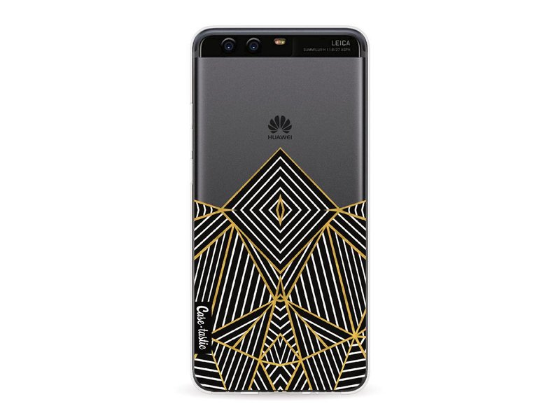 Casetastic Softcover Huawei P10 - Abstraction Half Transparent