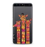 Casetastic Softcover Huawei P10 - Fiery Giraffes