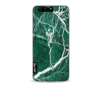 Dark Green Marble - Huawei P10