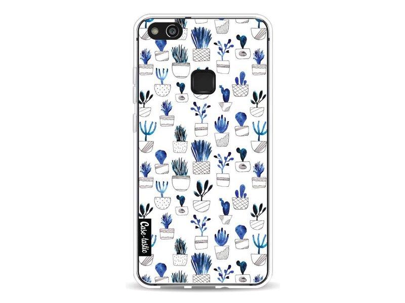 Casetastic Softcover Huawei P10 Lite - Blue Cacti