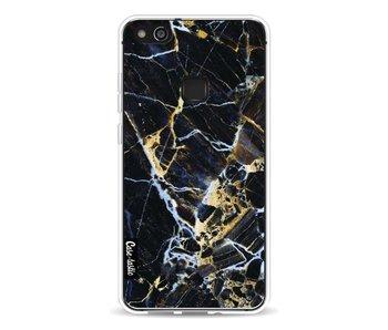 Black Gold Marble - Huawei P10 Lite
