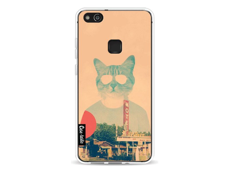 Casetastic Softcover Huawei P10 Lite - Cool Cat