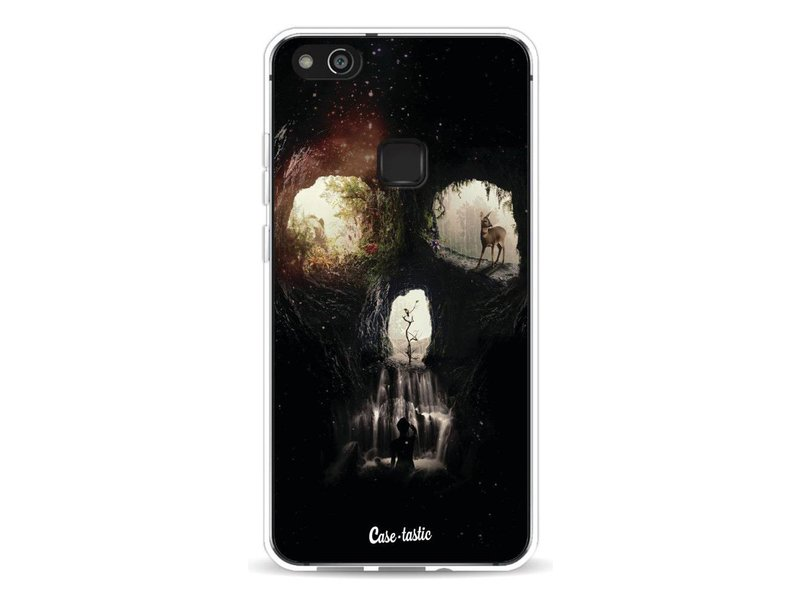 Casetastic Softcover Huawei P10 Lite - Cave Skull