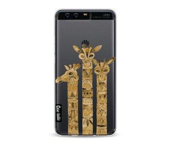 Sepia Giraffes - Huawei P10