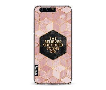 She Believed She Could So She Did - Huawei P10