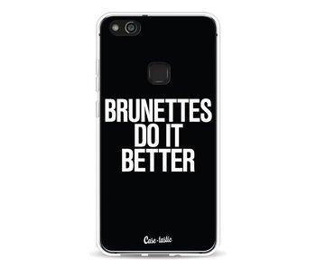 Brunettes Do It Better - Huawei P10 Lite