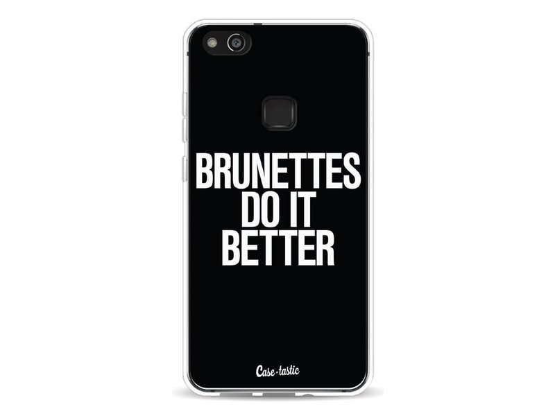 Casetastic Softcover Huawei P10 Lite - Brunettes Do It Better