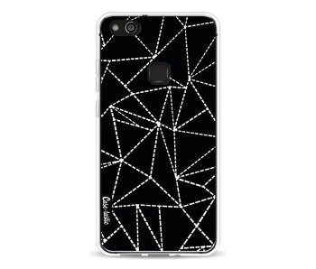 Abstract Dotted Lines Black - Huawei P10 Lite