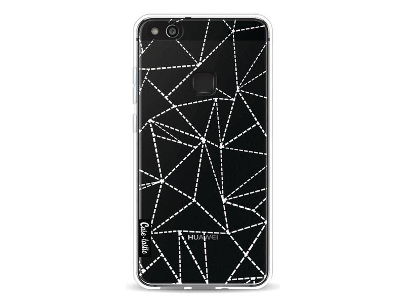 Casetastic Softcover Huawei P10 Lite - Abstract Dotted Lines Transparent