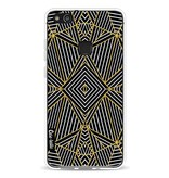 Casetastic Softcover Huawei P10 Lite - Abstraction Half Gold